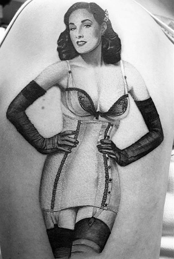 玛丽莲曼森身上的纹身分享展示图片