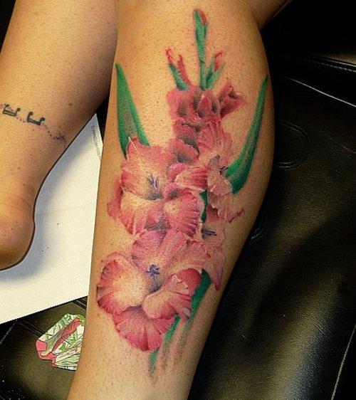 小臂花类纹身全图分享展示图片
