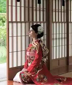 日本儿童和服图片