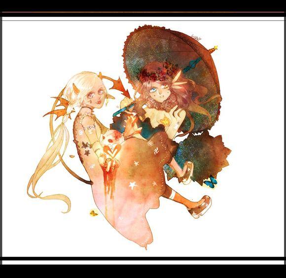 【招募】爱丽丝主题绘本【镜面の爱丽丝】招文手画手图片