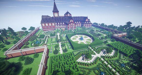 红魔馆的花园大赞!图片