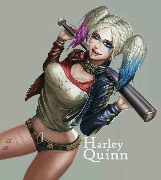 了个萌萌的小丑女哈莉图片