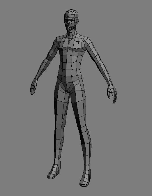根据原画中肩甲的形状,创建模型,这里因为肩甲上面的