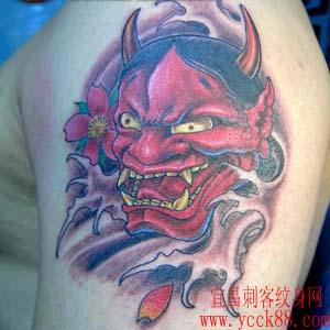 班诺纹身艺妓图案分享展示图片