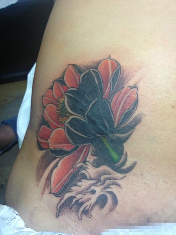 纹身盖疤盖图分享展示图片