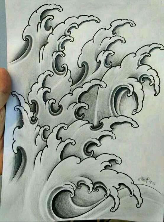 夕刺青. 纹身图案手稿,〈持续更新〉图片