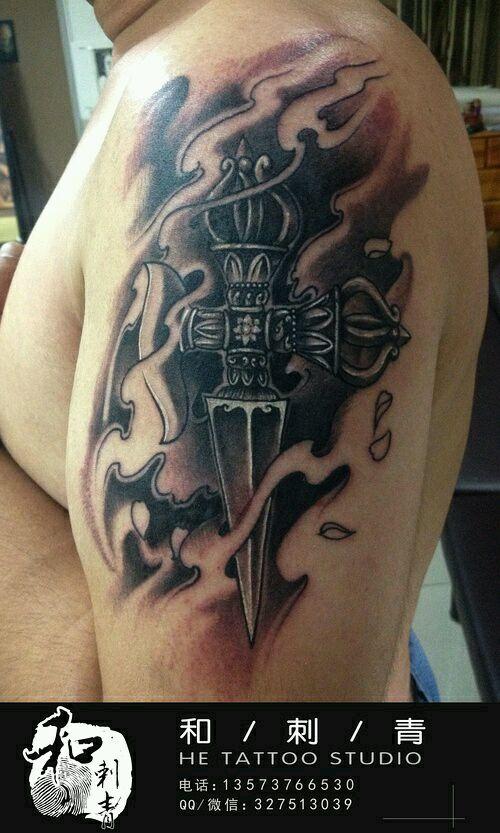 纹身佛教法器可以避邪吗?下面发