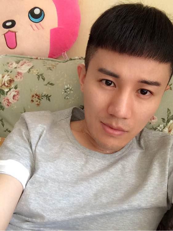 求男生桃心刘海发型图片图片