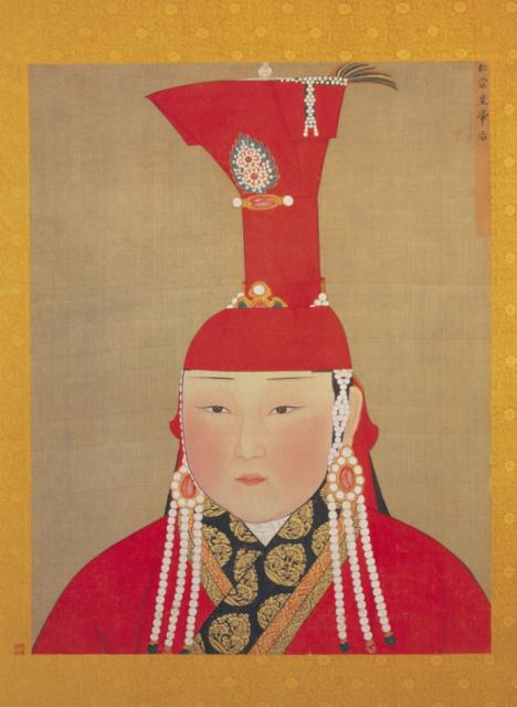元朝皇后姿色普遍不行图片