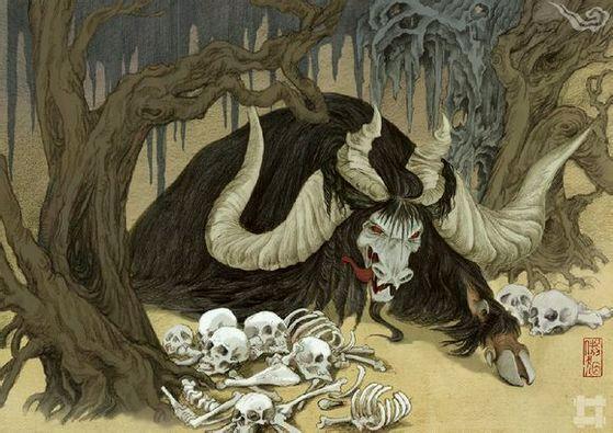 转播,古代神兽图片