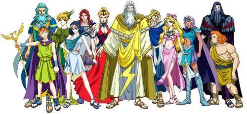 奥林匹斯十二神是哪些,都有什么关系