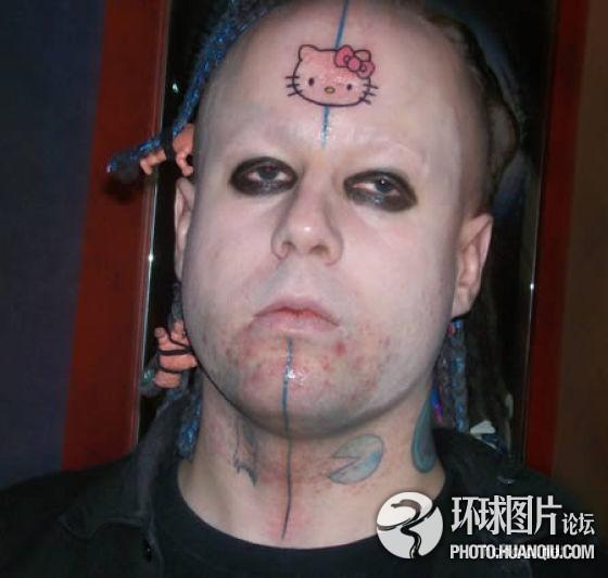 """崩溃!那些""""不要脸""""的纹身达人图片"""