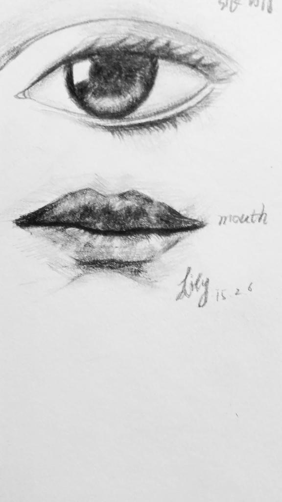 回复:嘴巴的画法图片
