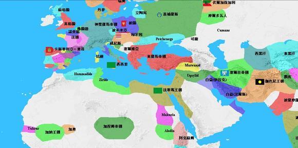 回复:water【原创截图】东亚历史地图演变(对照世界各国)