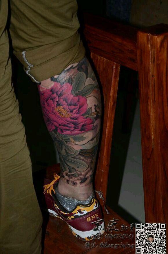 纹身手稿樊花分享展示图片