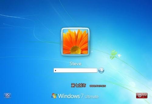求win7欢迎和注销关机界面的背景图图片图片