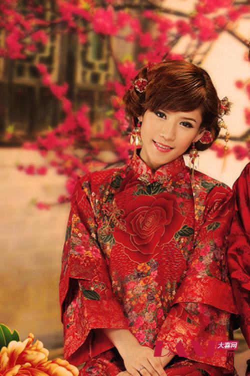 卡萌婚纱摄影馆—古装新娘造型图片