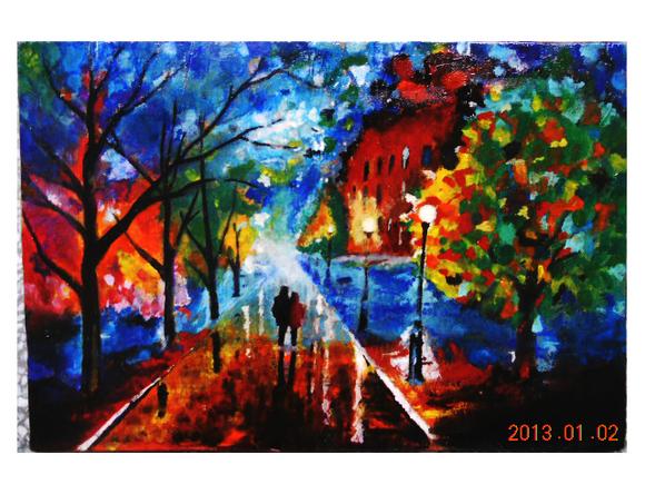 中学艺术节美术作品分享展示图片