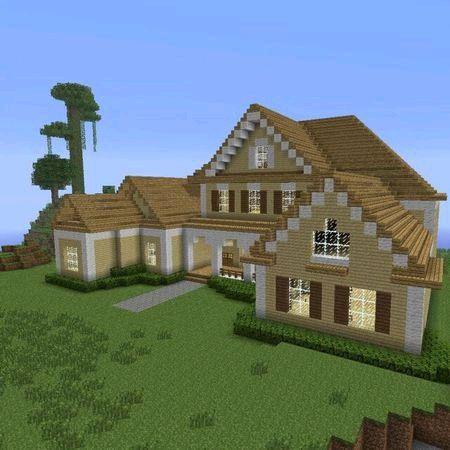 【图片】【新人建筑】荒野风小型三层别墅【我的世界