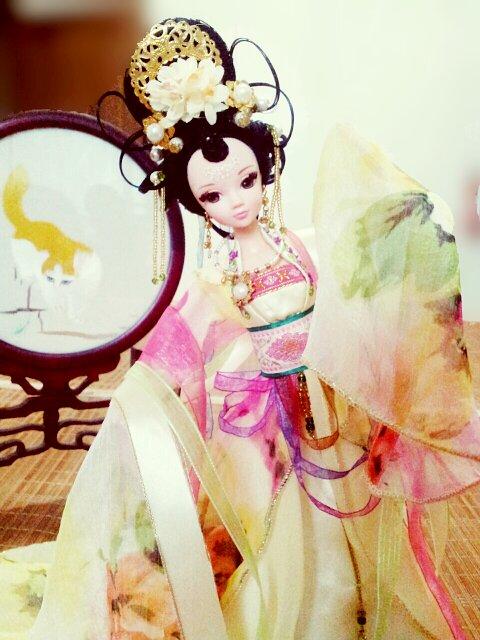 贵妃发型制作教程图片