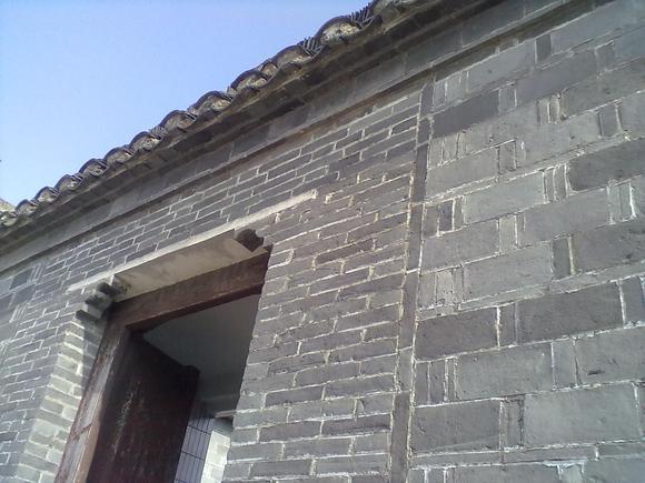 代古屋一样的一顺一丁式砌 高清图片