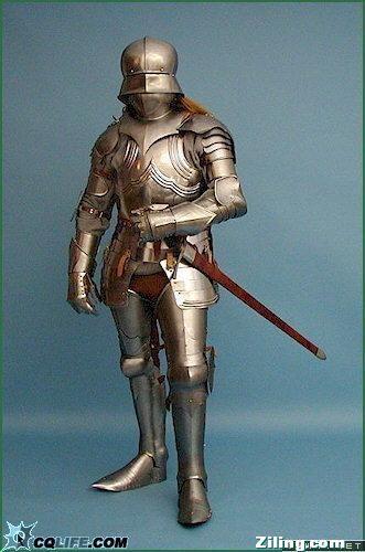 拉风外表包装下的一群苦逼,也谈中世纪欧洲骑士的装备给养问题图片
