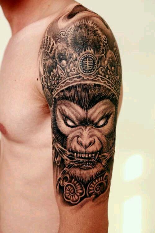 猴子_纹身吧_百度贴吧图片