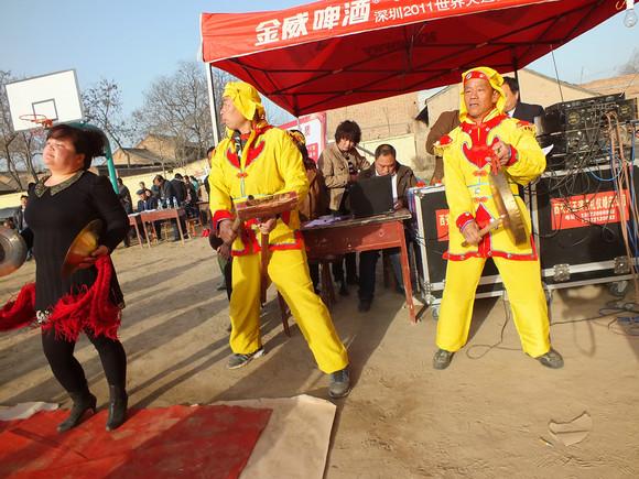 渭丰镇首届广场舞大赛剪影图片