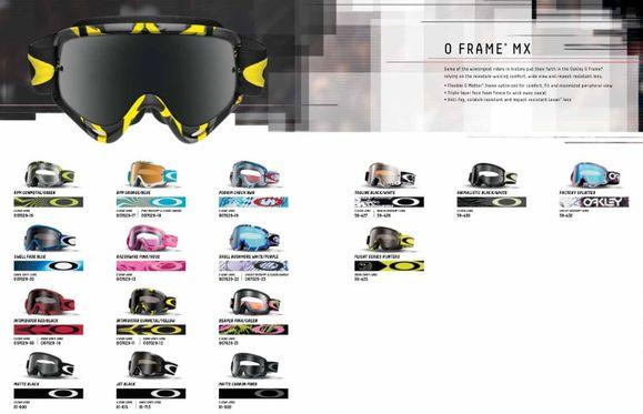 oakley goggle strap  oakley mx goggle catalog