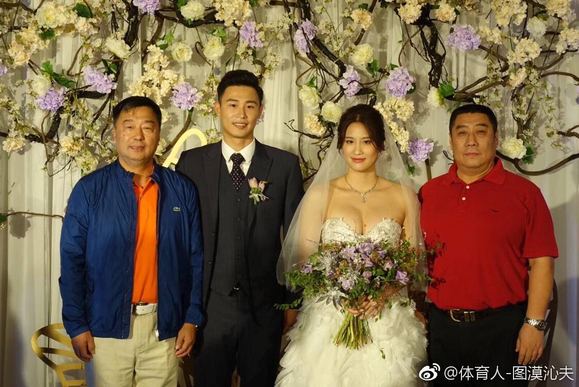 上海游泳名将陆滢结婚