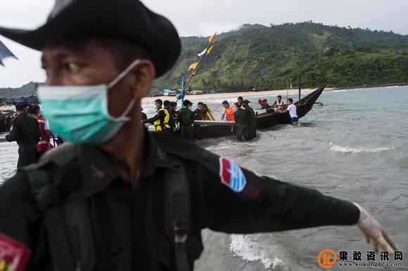 腾龙缅甸失联机搜寻工作继续目前已打捞起29具遗体(组图)