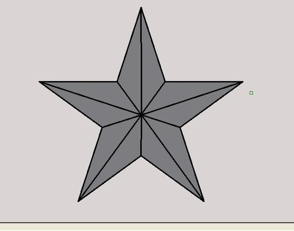 画五角星的简易画法分享展示图片