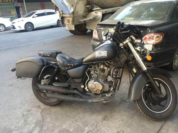 风暴太子求改装_复古摩托车吧图片