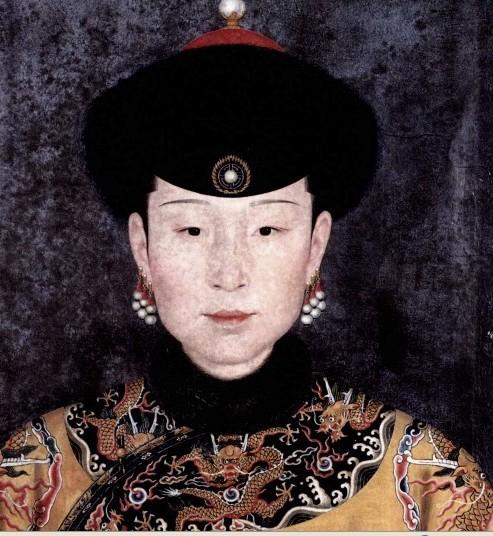 【图片】清朝历任皇后画像图片