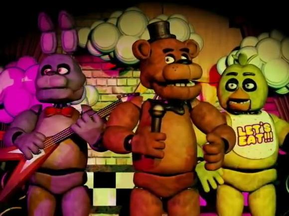 玩具熊的午夜后宫动画