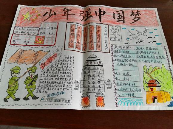 """眉山:太和小学开展""""少年强 中国梦""""手抄报展评活动"""