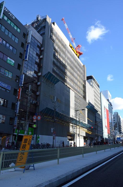 【大阪】阿倍野店新筑工事_日韩建筑吧_百度贴吧