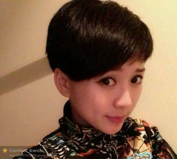 快手王小国的发型分享展示图片