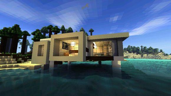 【现代】小型别墅现代别墅海滩楼盘汤山江宁附近图片