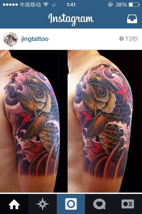 tattoo. 一个低调的北京纹身师图片