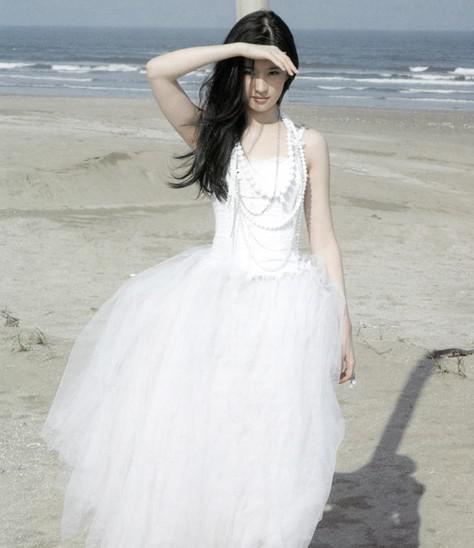 刘亦菲婚纱照曝光图片