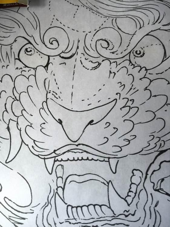纹身图案 唐狮纹身 小腿 > 上一条:传统--唐狮   上一条:传统--唐狮图片