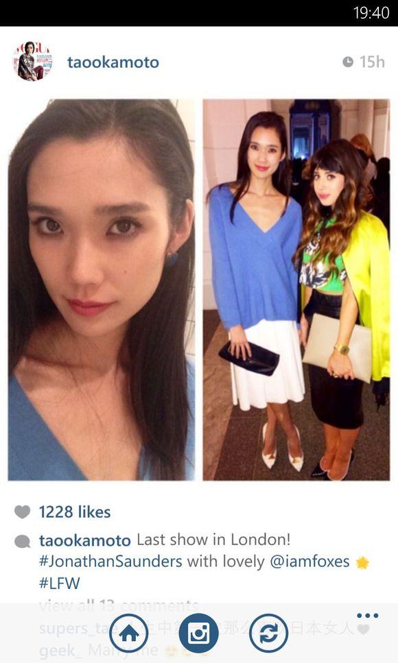 回复:【更新】tao的instagram更新图片
