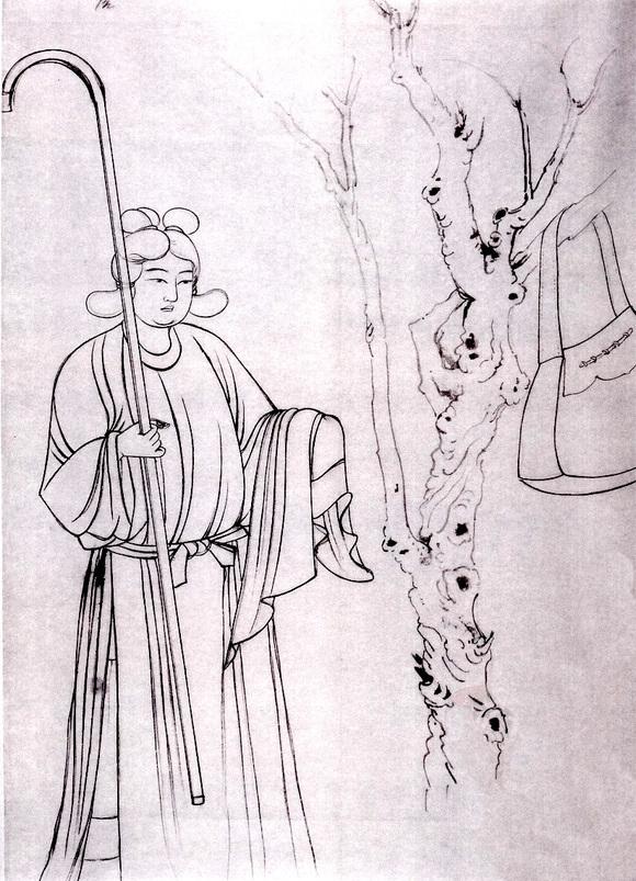 敦煌壁画中的唐代服装图片