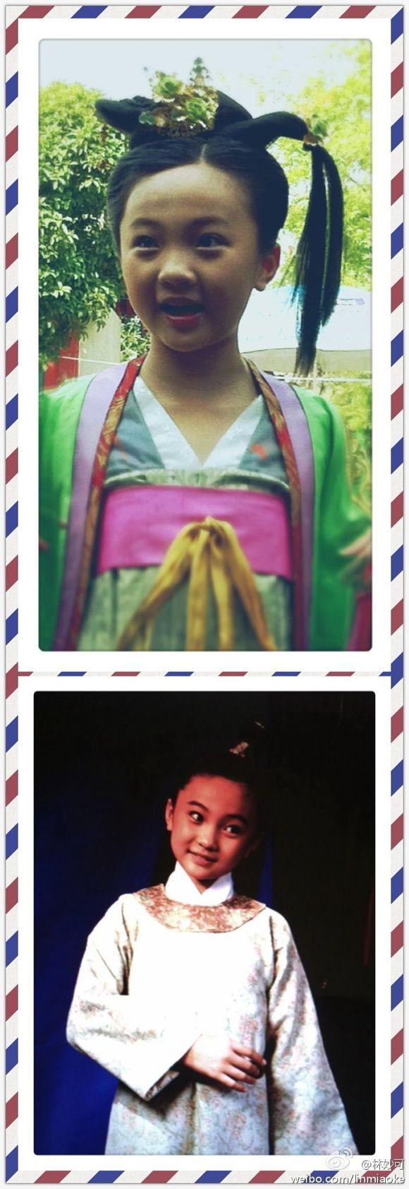 【太平公主秘史】童年太平公主—林妙可!图片