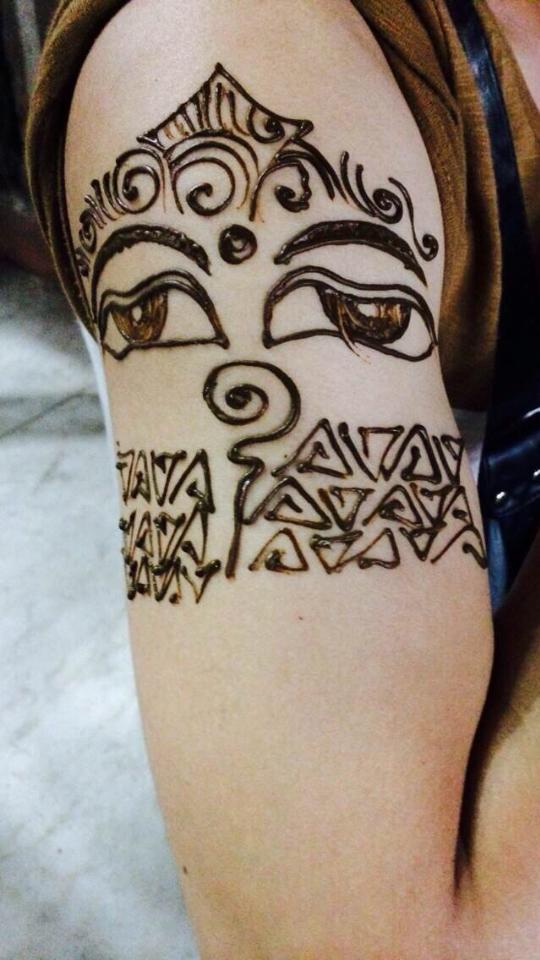 生于古印度迦毗罗卫国(今尼泊尔_纹身图案图片