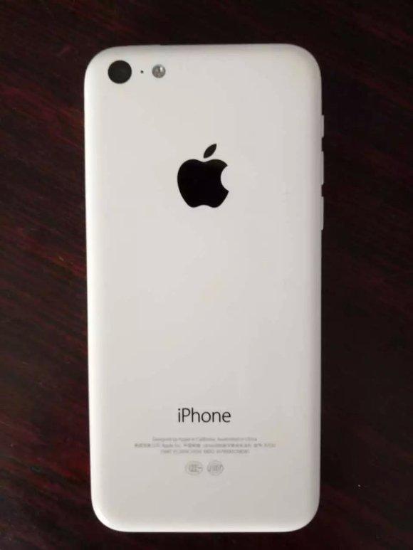 收一个苹果5c.能插电信卡