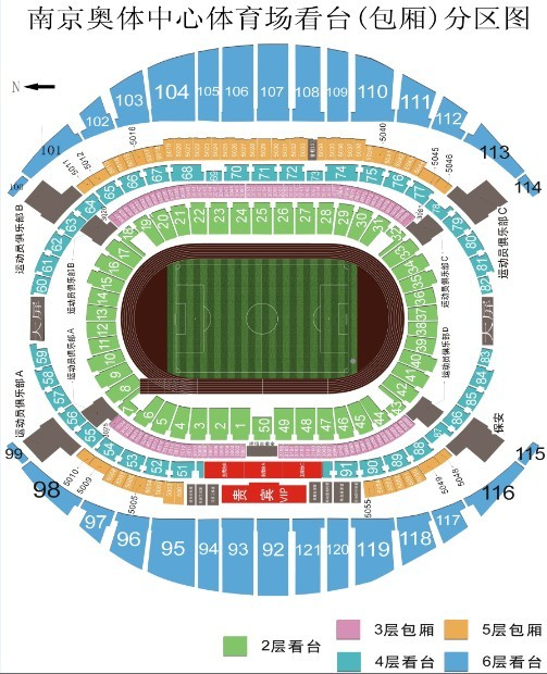 15图_北看台10-11-12-13-14-15-16区有大量余票(就是北面球门后面那块)