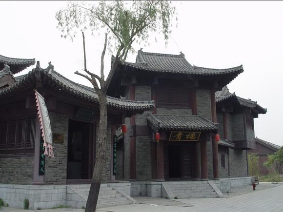 朱贵/水浒人物谱——旱地忽律朱贵移师东平影视城拍摄中~~~~
