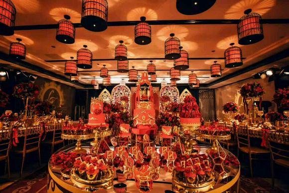 西安中式甜品台图片